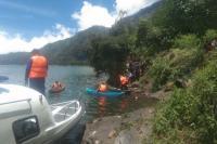 Ibu Muda Ditemukan Tewas di Danau Batur, Diduga Sengaja Ceburkan Diri