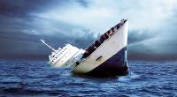 Rombongan Kapal Pengantar Jenazah Terbalik, 5 Orang Tewas
