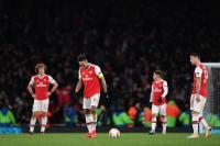 Arsenal vs Olympiakos, Aubameyang Sebut Gol Menit Akhir Bikin Sial
