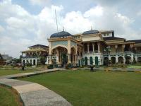 Pandemi Corona, Istana Maimun Ditutup untuk Wisatawan