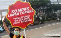 Jakarta Butuh Ketetapan Hukum Terkait <i>Physical Distancing</i>