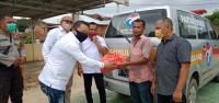 Di Tengah Pandemi Corona, Perindo Salurkan Sembako untuk Korban Banjir