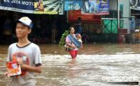 Dilanda Hujan Deras, Ratusan Rumah Kebanjiran di Tengah Pandemi Covid-19