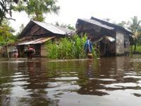 Sungai Meluap, 2 Desa di Malaka Barat Direndam Banjir Setinggi 1 Meter