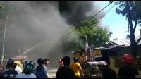 Ruko Terbakar, 5 Warga Terluka 1 Diantaranya Bayi