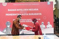 Putus Penyebaran Covid-19, BIN Kirim Ribuan Alkes Ke Pemkot Surabaya