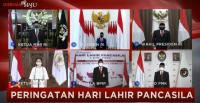 Presiden Jokowi Bersyukur Pancasila Jadi Bintang Penjuru Hadapi Covid-19