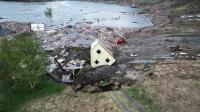 Rekaman Longsor Seret Rumah ke Laut di Norwegia