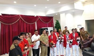 5 Atlet Asal Sulut Peraih Medali Asian Games 2018 Dapat Bonus Melimpah