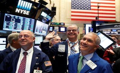 Wall Street Menguat Ditopang Saham Blue Chips