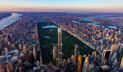 Central Park Tower, Gedung Pencakar Langit Terbaru di New York