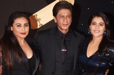 Gaya Glamor Shah Rukh Khan, Kajol, dan Rani Mukerji di Reuni 20 Tahun Kuch-Kuch Hota Hai