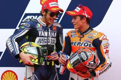 Potensi Marquez Ikuti Jejak Rossi Jadi Juara MotoGP di Jepang
