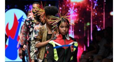 Tampil di LA Fashion Week, Elisakh Hagia Ungkap Rasa Bangga
