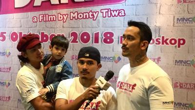 Tantangan Adipati Dolken, Tora Sudiro, dan Tanta Ginting dalam Film 3 Dara 2