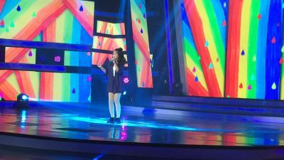 Charisa Faith Buktikan Pantas Raih Tiket Titanium di Indonesian Idol Junior