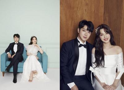 Selamat, Minhwan 'FT Island' dan Yulhee Gelar Pesta Pernikahan