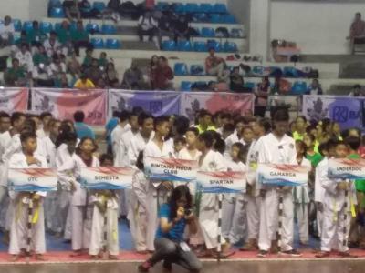 1.200 Peserta Ramaikan Kejurnas Denpasar Open Taekwondo