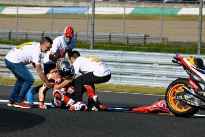 Marquez Ceritakan Kronologi Insiden dengan Redding saat Selebrasi Juara MotoGP 2018