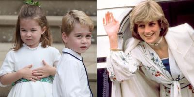 Pangeran George & Putri Charlotte Punya Hobi Sama dengan Lady Diana Lho