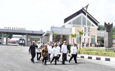 4 Tahun Jokowi-JK, Pasar di Perbatasan Sekarang Jual Emas