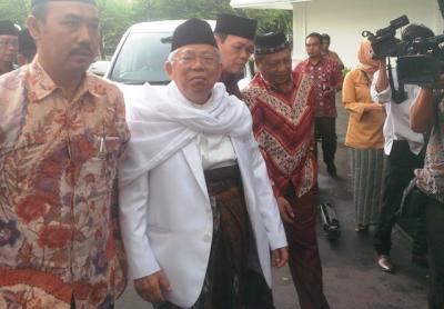 Ma'ruf Amin Lantik TKD dan Pimpinan Rumah KMA Kalteng