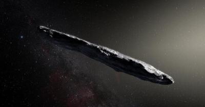 Batu Luar Angkasa 'Oumuamua' Dikirim oleh Alien, Benarkah?