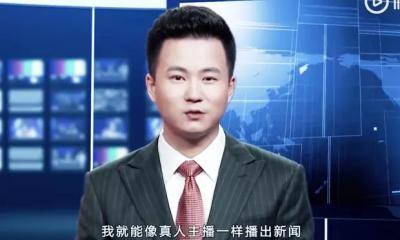 Mirip Manusia, Robot Berteknologi AI Gantikan News Anchor