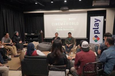 MNC Play dan CinemaWorld Gelar Movie Screening Bersama Pelanggan dan Komunitas Film