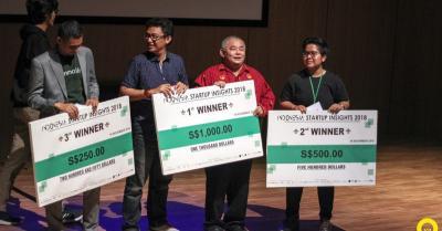 Sejumlah Startup Asal Indonesia Ramaikan Indonesia Startup Insight di Singapura