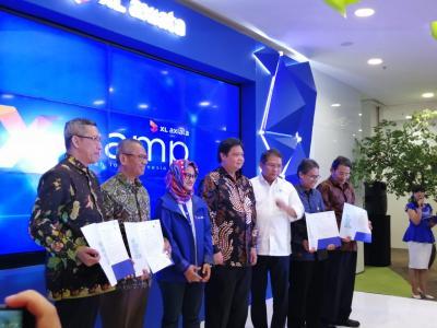 Diresmikan 2 Menteri, XL Axiata Bangun Laboratorium IoT di Indonesia