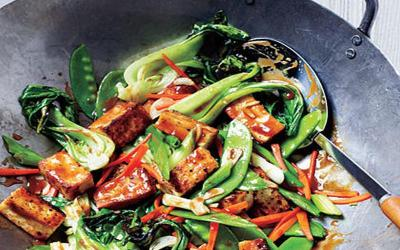 Lauk Praktis untuk Makan Malam, Tumis Tahu Pakcoy