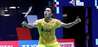 Jonatan Kandaskan Anthony Ginting di 16 Besar Hong Kong Open 2018