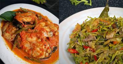Rekomendasi Asam Padeh Ikan Tenggiri dan Tumis Bunga Pepaya Ikan Peda untuk Makan Malam