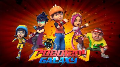Boboiboy Galaxy Hadir dalam Format DVD, Pee Wee Gaskin Isi OST