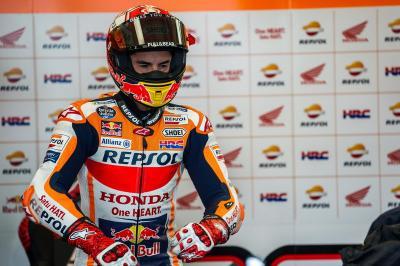 Gagal Finis di Valencia, Marquez: Beruntung Gelar Juara Telah Diraih