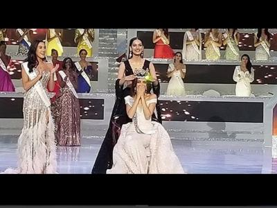 Curhat Manushi Chhillar Setelah Berikan Mahkota Miss World ke Vanessa Ponce
