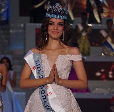 Sabet Gelar Miss World 2018, Intip Gaya Berbusana Vanessa Ponce de Leon