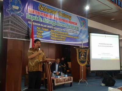 Menperin: Industri 4.0 Jadikan Ekonomi Indonesia 10 Terbesar di Dunia pada 2030