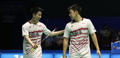 Ini Lawan Marcus Kevin di BWF World Tour Finals 2018