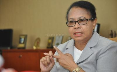 Menteri Yohana Yembise Tanggapi Kasus PSK Difabel di Flores Timur