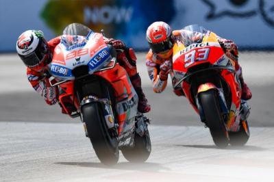 Lorenzo Tak Gentar Bersaing dengan Marquez pada Musim Depan