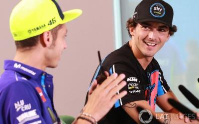 Bagnaia: Kalahkan Rossi di MotoGP 2019? Itu Bukan Target Saya