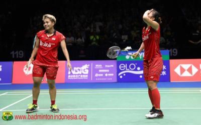 Greysia Apriyani Ungkap Alasan di Balik Kekalahannya di BWF World Tour Finals 2018