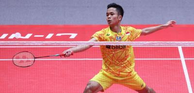 Anthony Ginting Tak Puas dengan Performanya saat Kalah dari Shi Yuqi