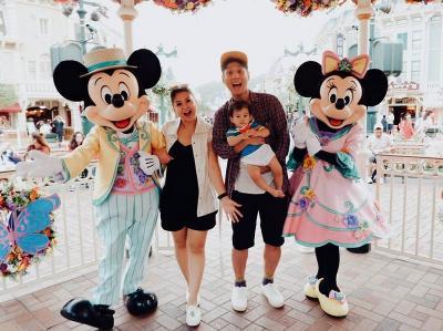 Intip Momen Keseruan Liburan Keluarga Kecil Putri Titian dan Junior Liem