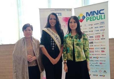 Pulang dari China, Miss Indonesia 2018 Rampungkan Program BWAP