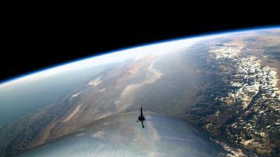 Intip Pemandangan Bumi yang Ditangkap Virgin Galactic