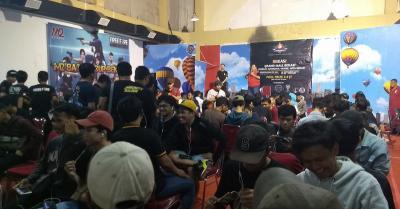 Ratusan Gamers Milenial Ikuti Turnamen Free Fire Se-Jabodetabek