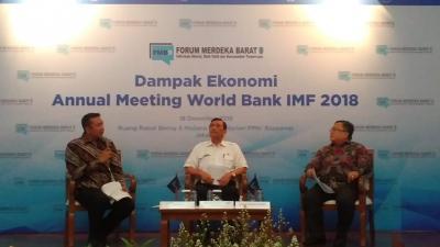 Pertemuan IMF-World Bank 2018 Sumbang 0,01% ke Pertumbuhan Ekonomi